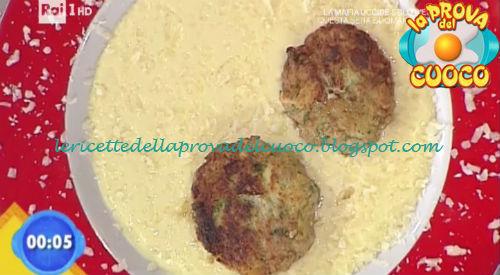 Polpettine con fonduta di formaggio ricetta Marretti da Prova del Cuoco