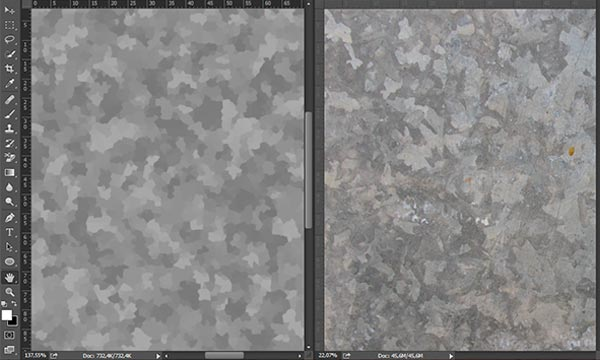 How to Create Galvanized Steel Texture in Photoshop CC 2014 (Plus Free Action)