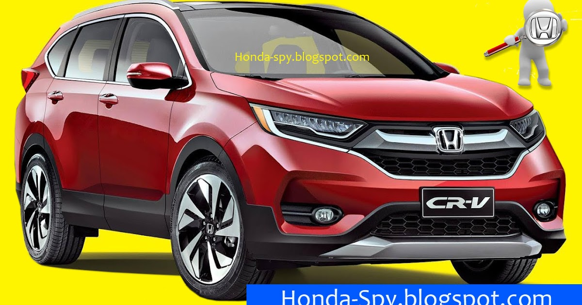 honda-spy: 2017 Honda CR-V Artist Concept is looking good