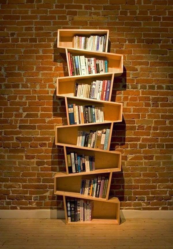10 ideas de dise o de estantes y libreros muy originales top 10 top ten - Estanterias originales de pared ...