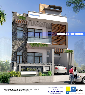 Design Home India on Indian Style Contemporary Home Design From X Line ...