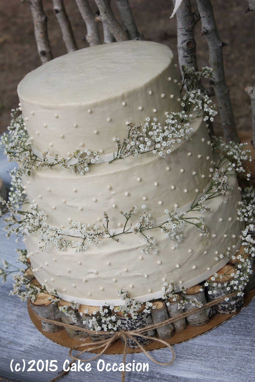The Above Cake Was For An Outdoor Wedding On An Afternoon In Early May We Didn T Expect It To Be Terribly Hot So The Bride Chose Cream Cheese Icing