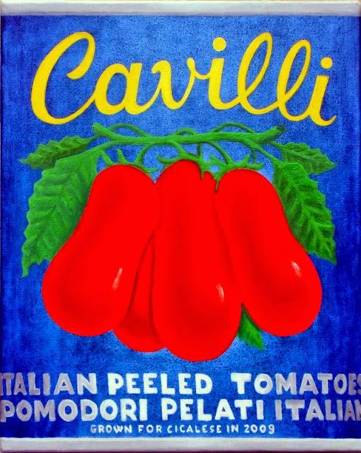 PELATI CAVILLI (2013) olio su tela (30x24)