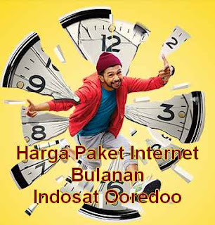 Harga Paket Internet Bulanan Indosat Ooredoo