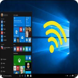 نصائح لجعل نظام ويندوز 10 يبث الانترنت مثل الراوتر و شبك ثمانية اجهزة به