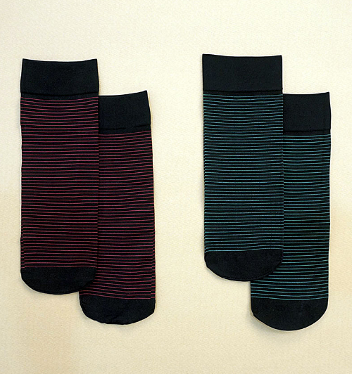 Thin Striped Socks