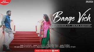 Baage Vich Lyrics | Suryaveer | Nilofer Wani