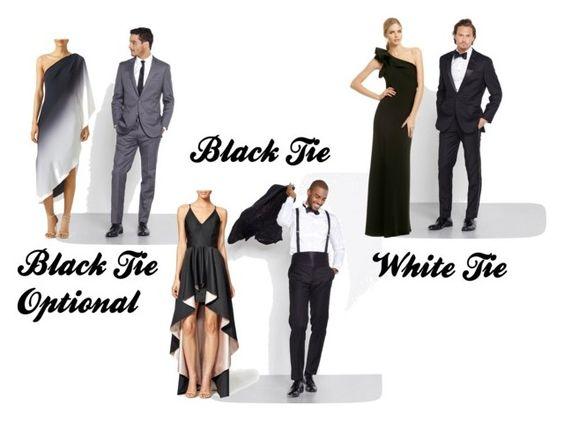 Black Tie Dress Code For Wedding 36 Fabulous Black Tie Optional Smoky