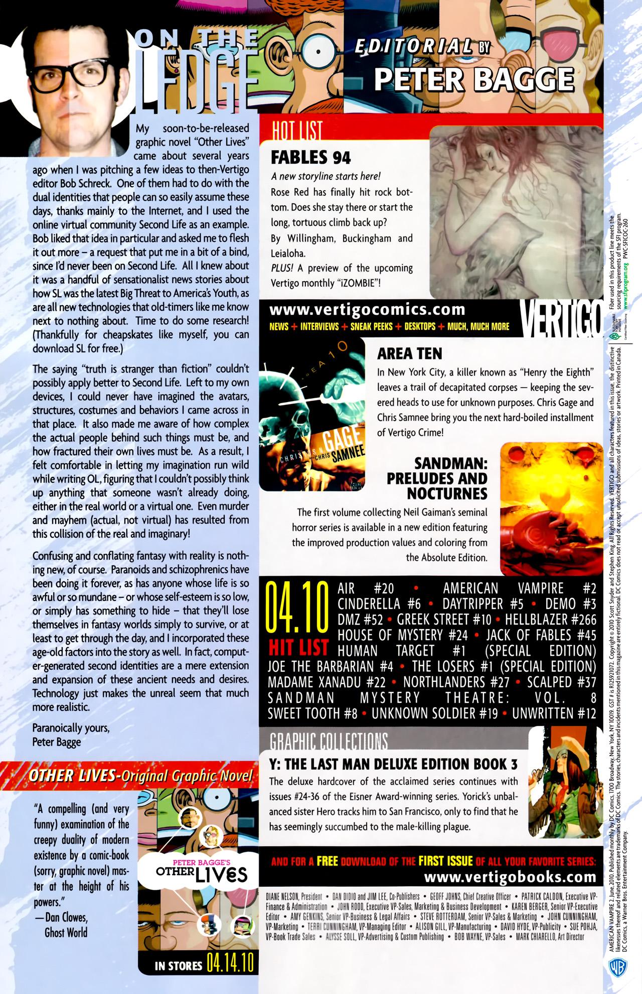 Read online American Vampire comic -  Issue #2 - 35