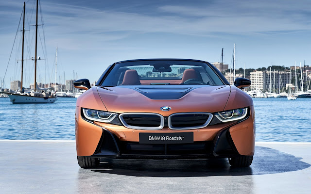 Papel de parede 2018 BMW i8 Roadster