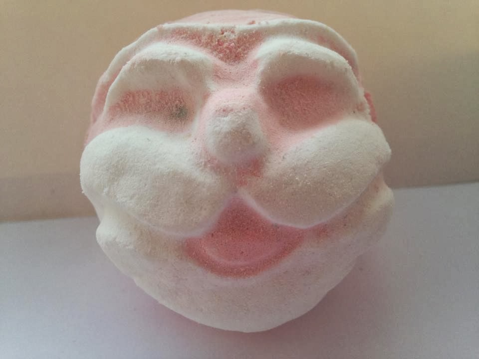 The Father Christmas bath bomb from lush