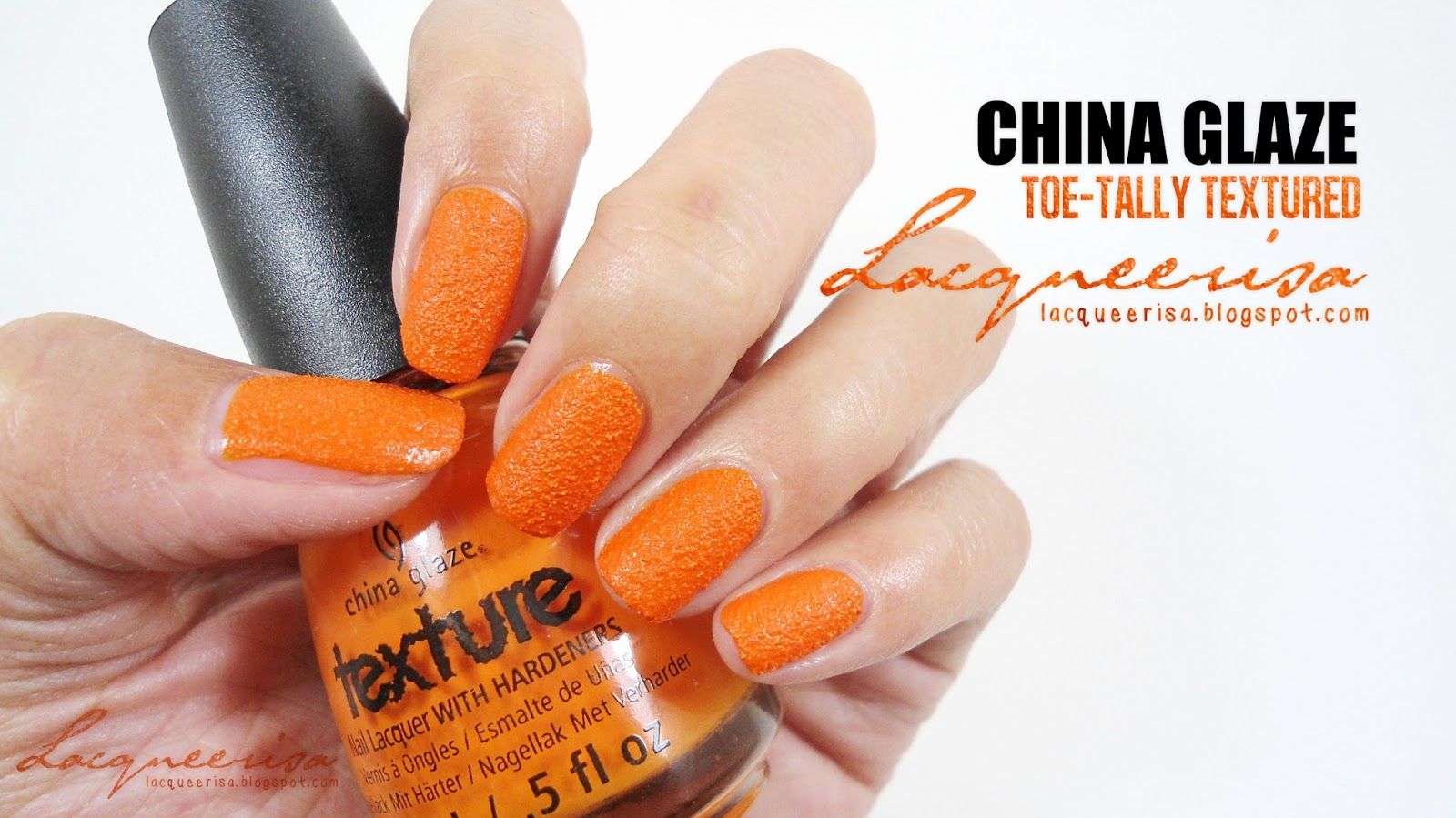 Lacqueerisa: China Glaze Toe-Tally Textured