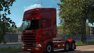 Scania RJL Exhaust Pipe