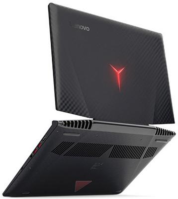 Lenovo Ideapad Y720-15IKB: panel Full HD y gráfica GeForce GTX 1060