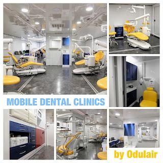 Mobile Dental Clinics by Odulair http://wwwodulair.com
