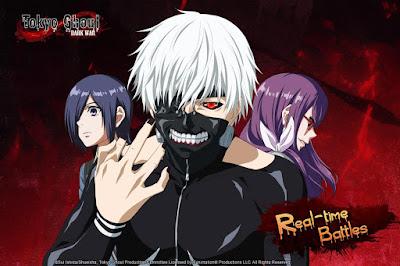 Download Tokyo Ghoul Dark War MOD APK Terbaru