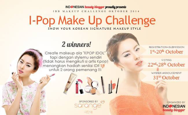 IBB Makeup Challenge October 2014 ft. Sarange by Jessica Alicia
