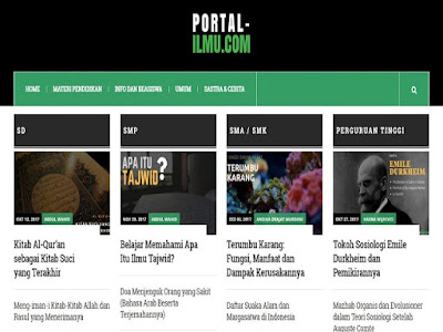 Portal Ilmu Website