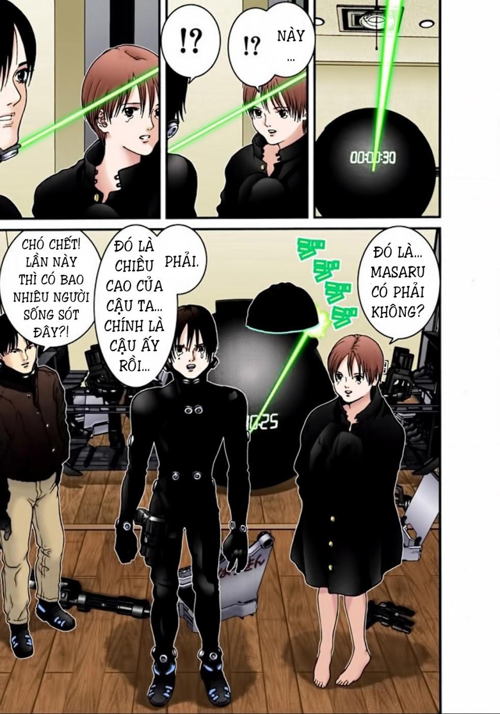 Gantz Chap 19: Gantz trang 13