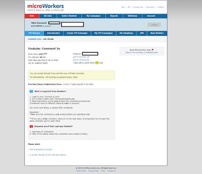 Microworkers zarada