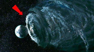 La tierra esta pasando por un huracan de materia obscura.