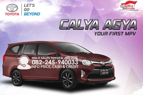 Toyota Calya Agya Surabaya Indonesia