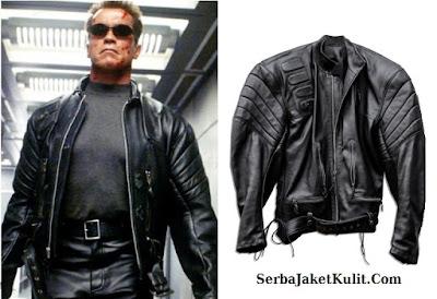 Model Jaket Kulit Gaya Maskulin Terminator