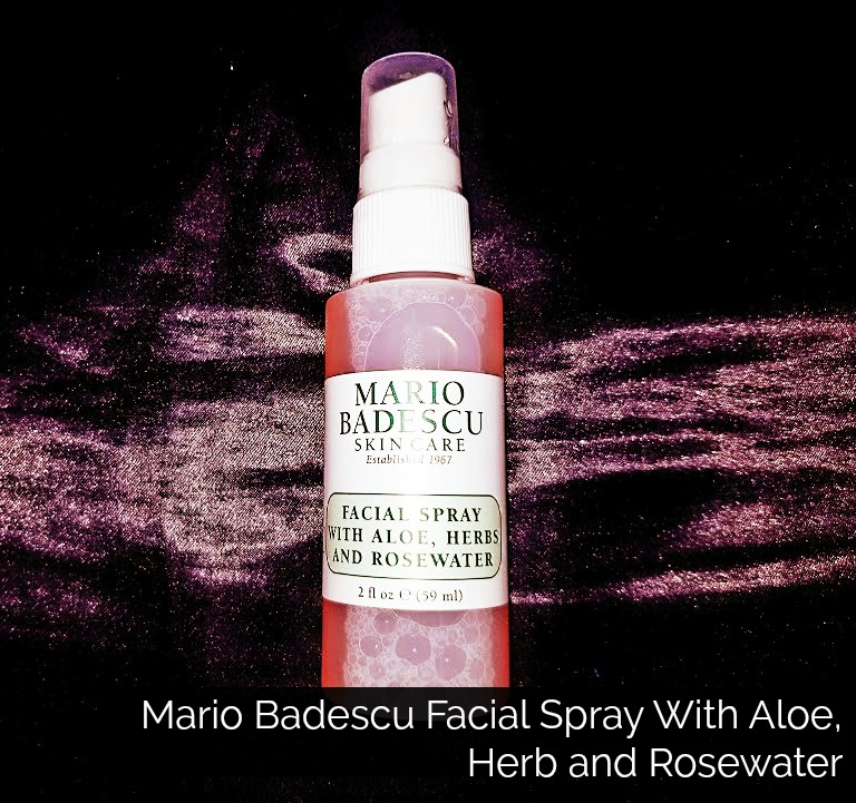 Click here to buy Mario Badescu Facial Spray With Aloe, Herb and Rosewater for a refreshing mist this summer for hair, body and face.