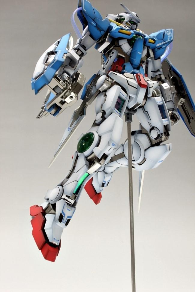 MG 1/100 Gundam Exia Review | Gunpla Hobby and Reviews  |Gundam Exia