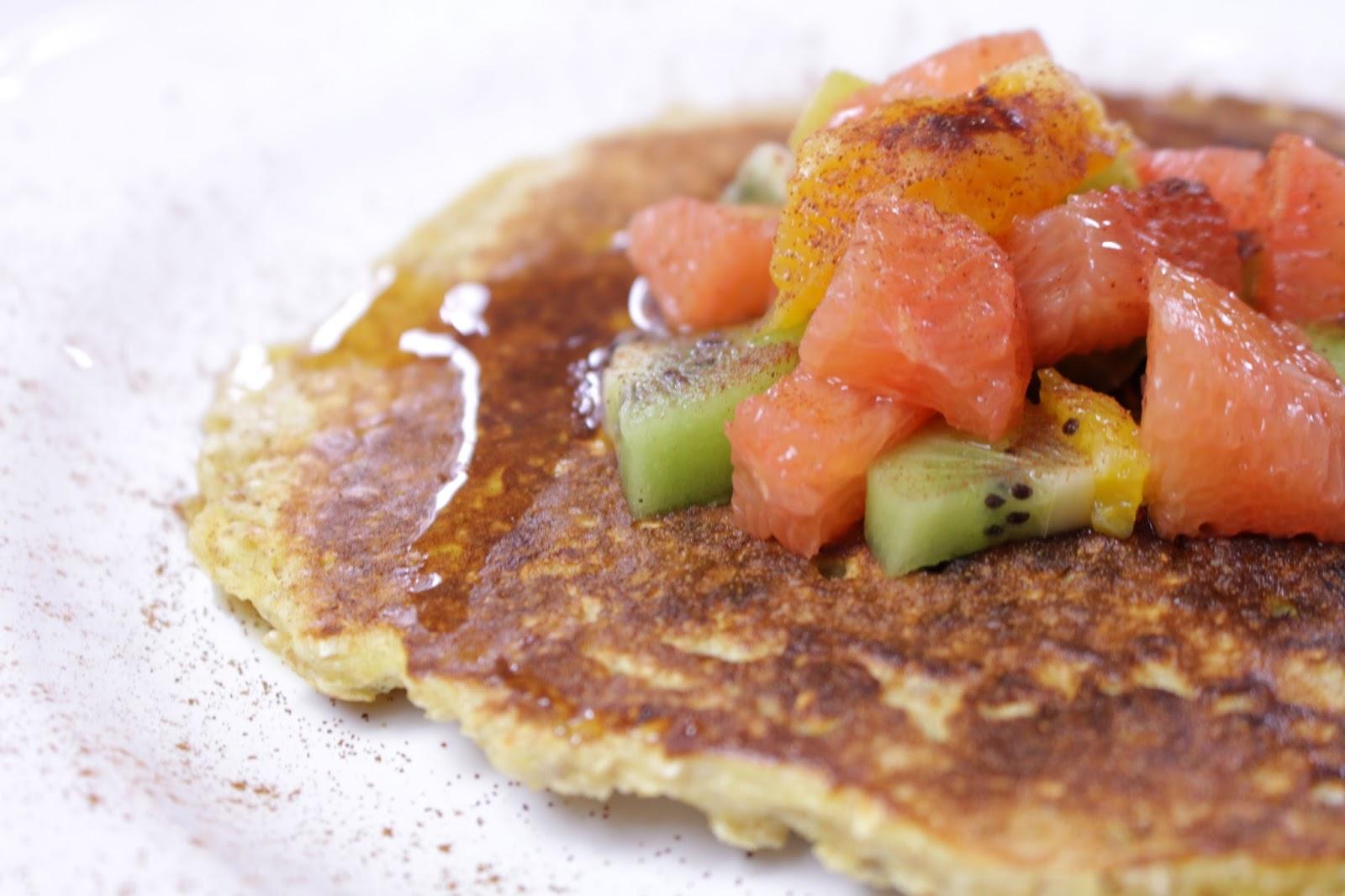 Oat meal pancake