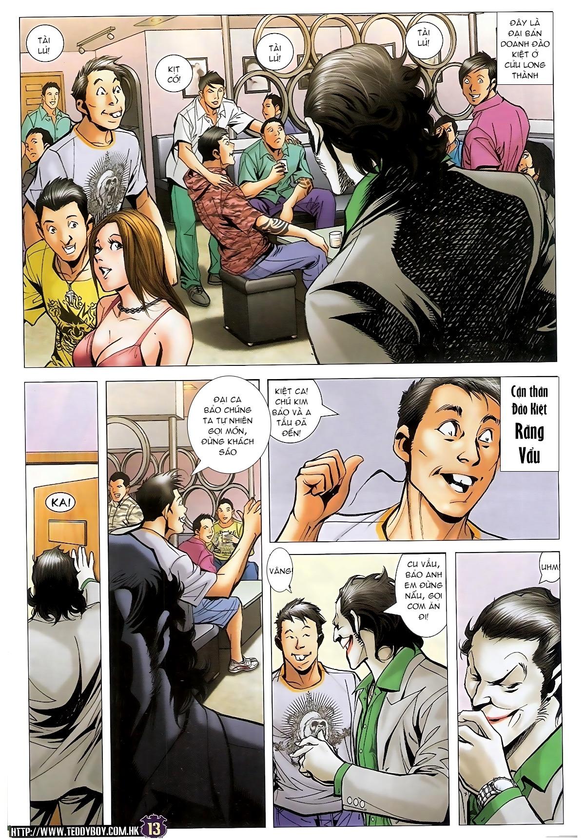Người Trong Giang Hồ - Chapter 1497: Thần Nhân hạ phàm - Pic 12