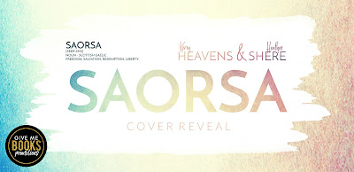 COVER REVEAL- Saorsa by Kerry Heavens & Heather Shere