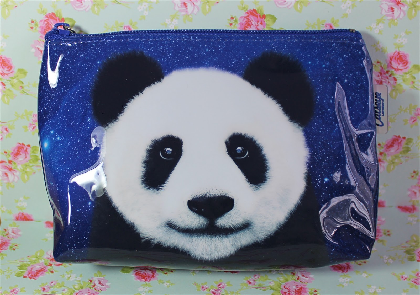catseye london panda at night makeup bag