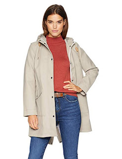 Women's Hooded Rain Jacket by Levis