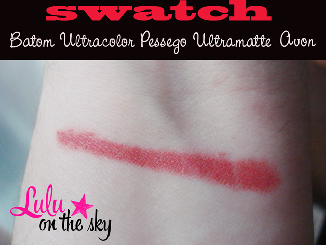 Resenha: Batom Ultra Color Pessego Ultramatte Avon  - blog luluonthesky
