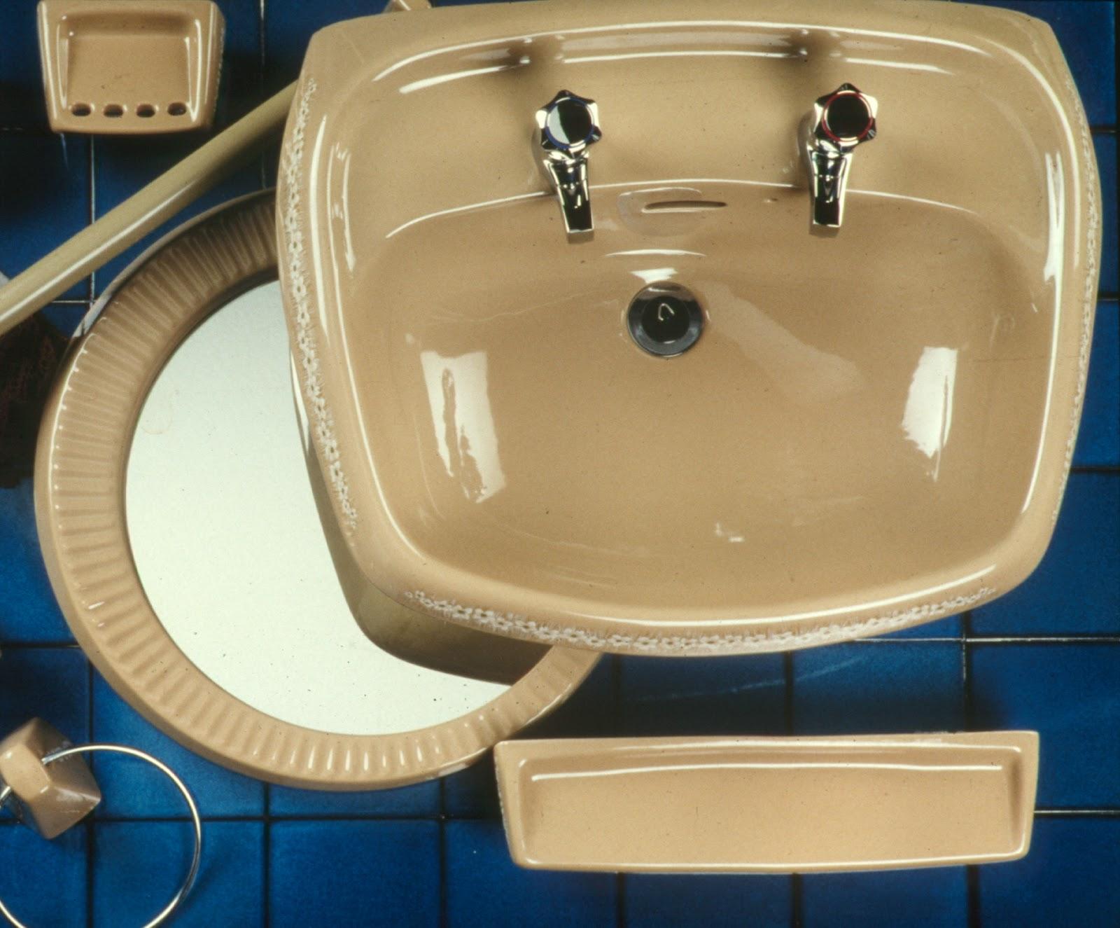Avocado Bathroom Suite Twyford Bathrooms History Colours