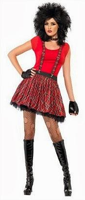 Tartan Punk Girl Costume