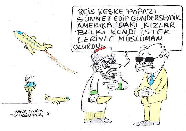 rahip brunson karikatür