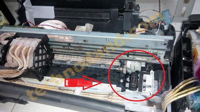 Perbaikan Pompa Pembuangan Pada Printer Epson L series