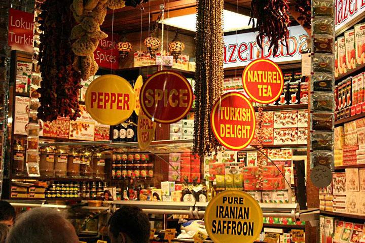 Pasar rempah atau Spice Bazaar