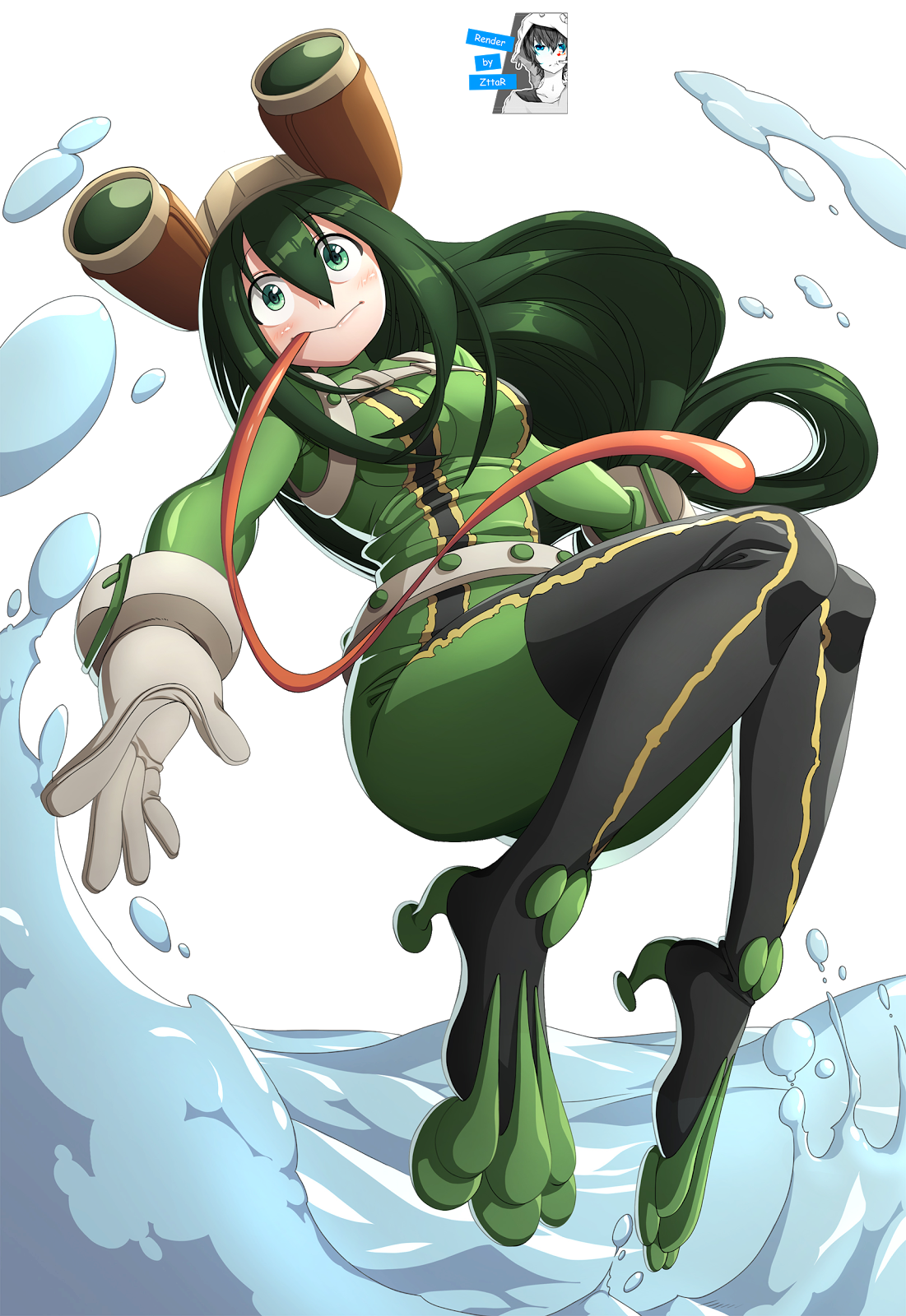 Render Asui Tsuyu COOL ~3 versiones~