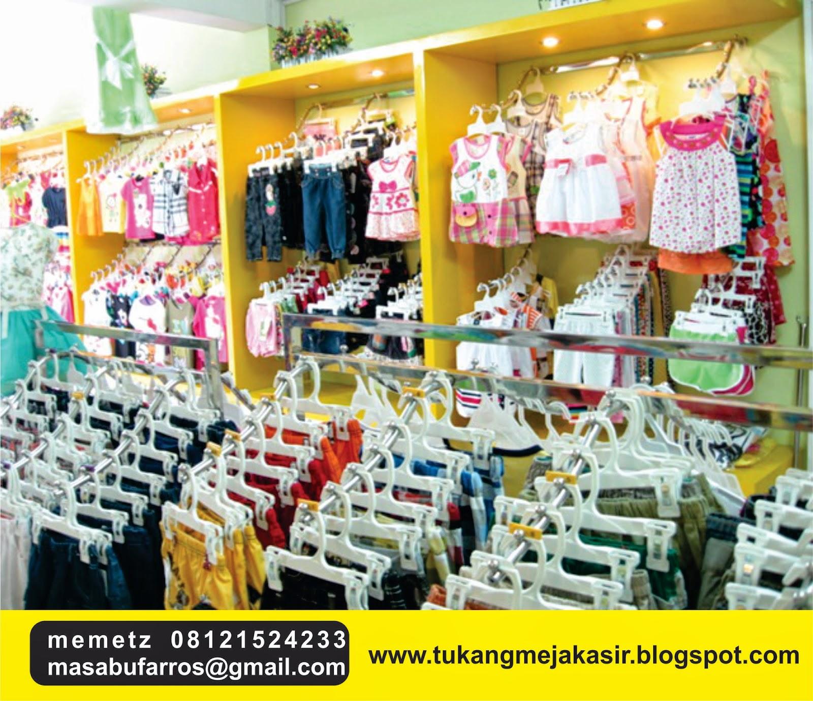 interior design  specialist meja kasir baby shop design toko baju anak toko perlengkapan bayi