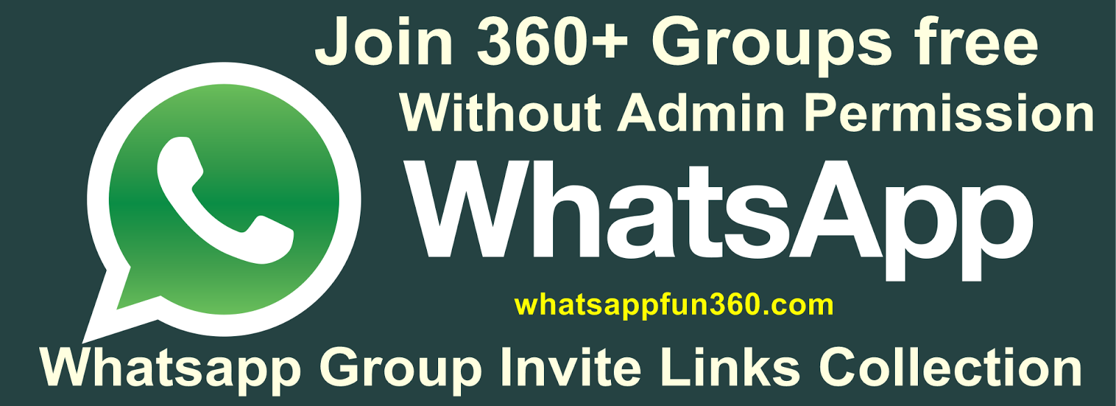 Whatsapp groups invite links collection Join 500 groups Now