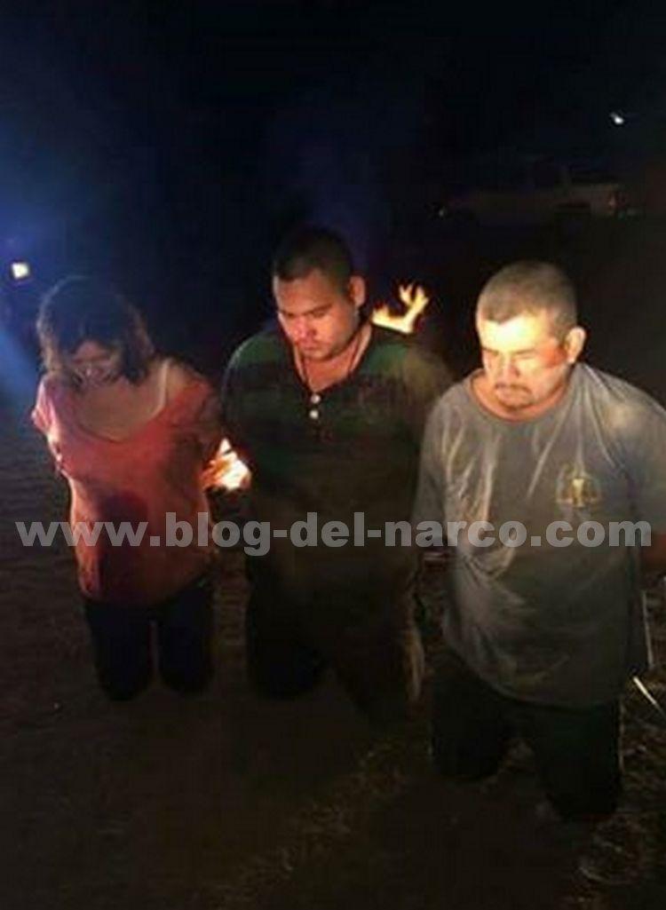Fotografías; CDG captura, ejecuta y quema a ladrones en Valle Hermoso Tamaulipas