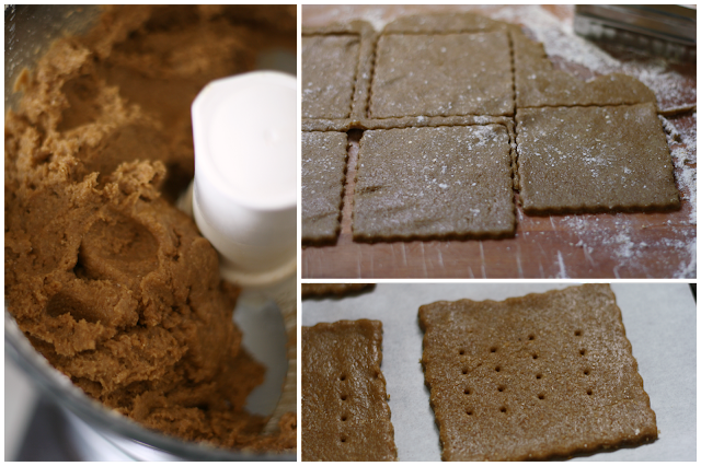 making Homemade Graham Crackers