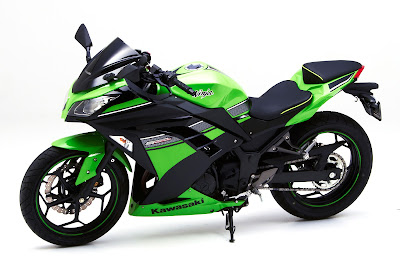 Kawasaki Ninja 400R green dition