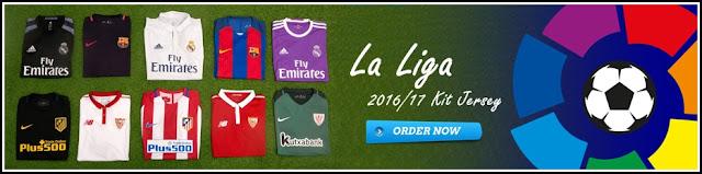 Kumpulan Jersey Terbaru Liga Spanyol (La Liga) Musim 2017