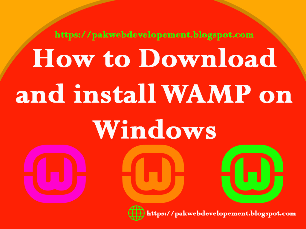 How To Download and Install WAMP Server on windows - Pak Web Development