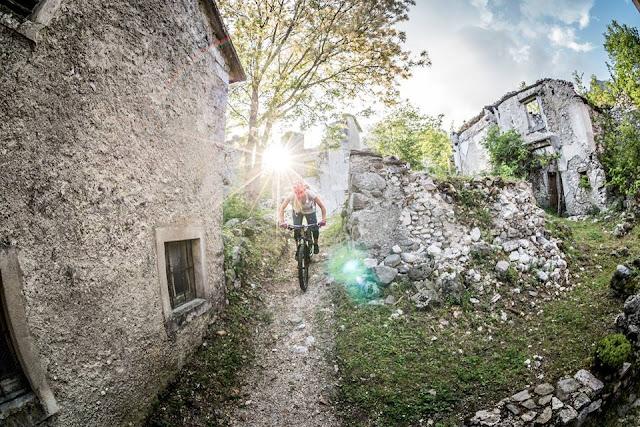 MTB - Monte Flop, Moggio - Val Aupa Mountainbike Tour Tolmezzo Julische Alpen