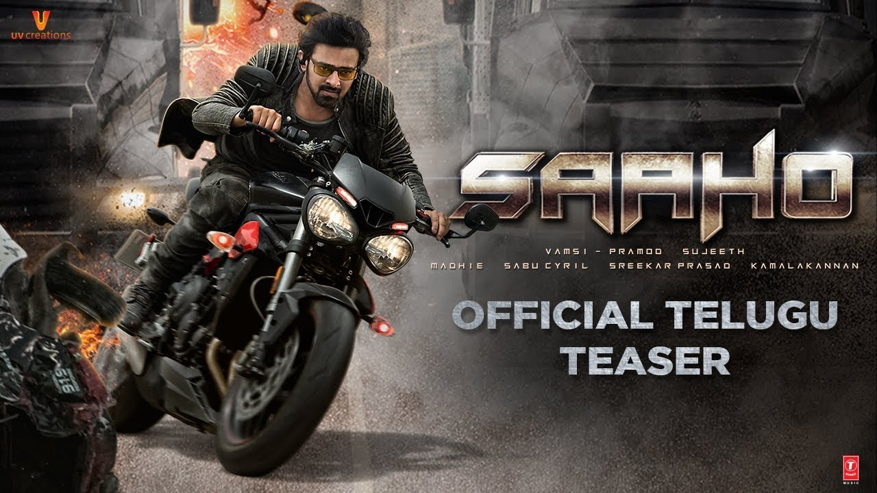 Saaho movie teaser: